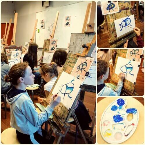 Czy nauka rysunku pomaga wnauce?