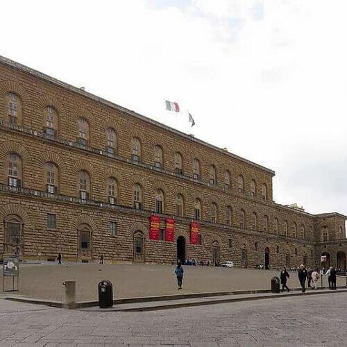Palazzo Pitti – kompleks muzealny wrenesansowej budowli