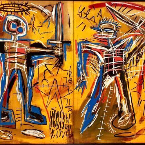 """',Basquiat- Taniec ze śmiercią"""""""