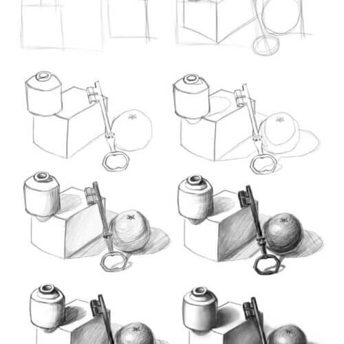 Nauka rysowania od podstaw – TOP 10 zasad dla początkujących