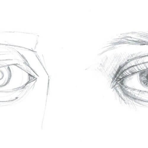Jak narysować oko?